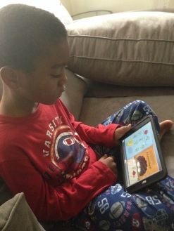 Reading on the iPad