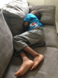 Sometimes almost seven year olds still need naps