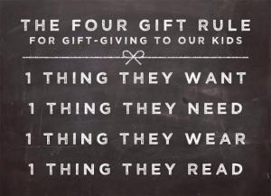 4 gift rule