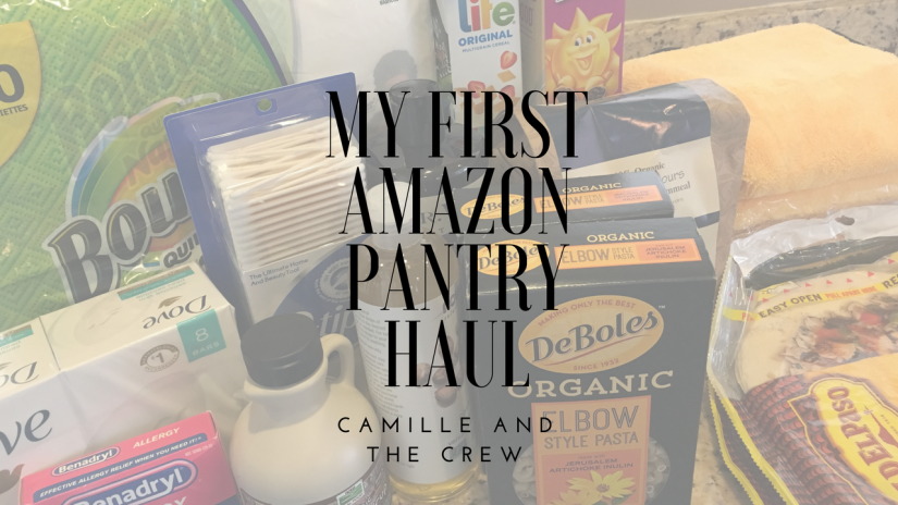 my firstamazon pantryhaul
