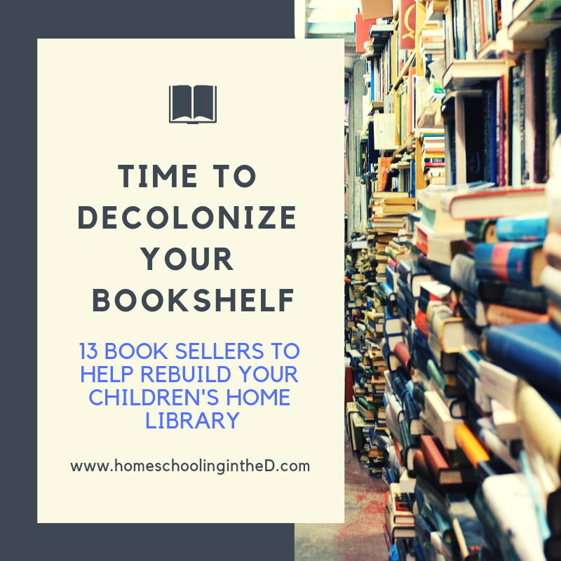 time to decolonize your bookshelf